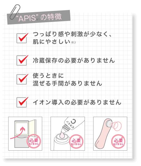 ビタミンC誘導体アプレシエAPPS APIS